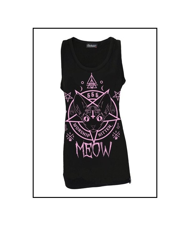 Debardeur Darkside Clothing Kitten 666