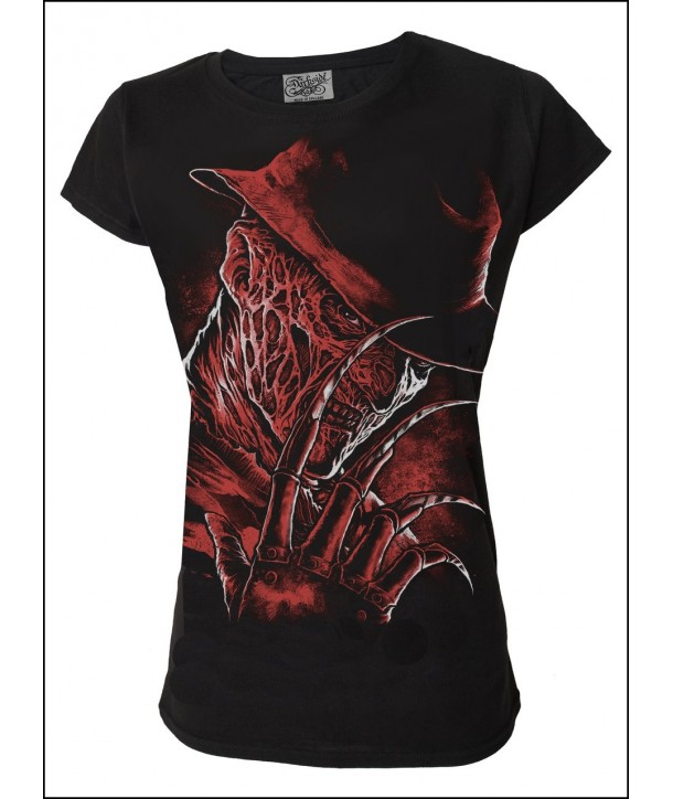 Tee Shirt Darkside Clothing Freddy Womens T Shirt