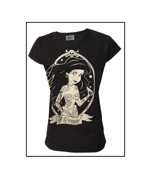 Tee Shirt Darkside Femme Mermaid