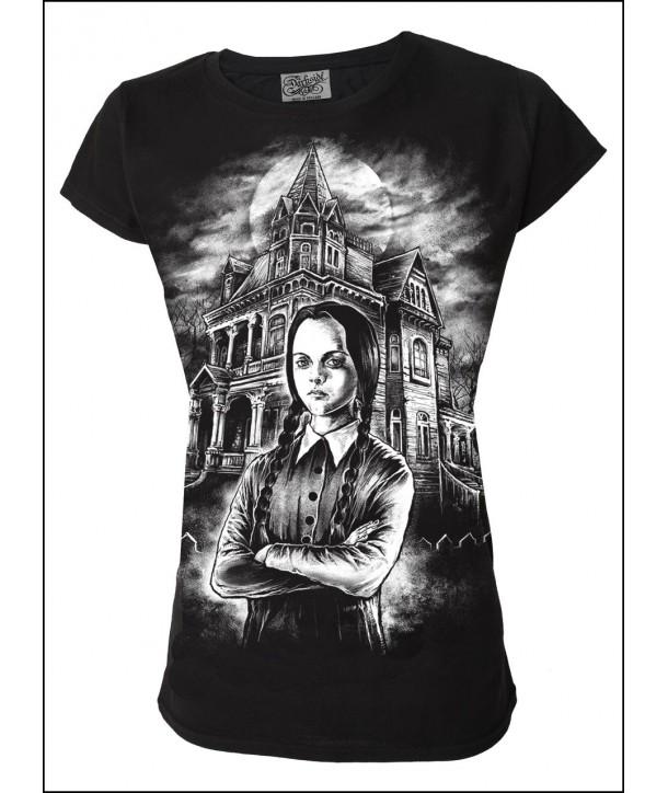 Tee Shirt Darkside Femme Wednesday