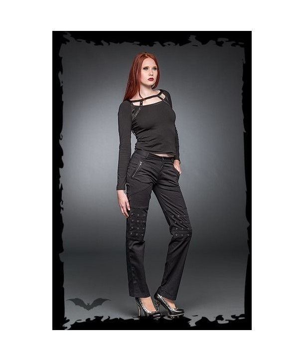 Pantalon Queen Of Darkness Studs