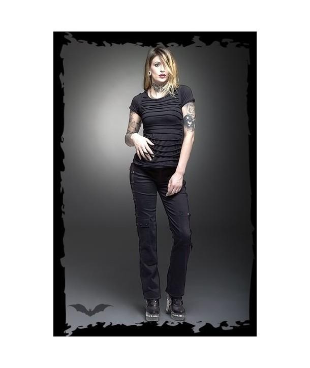 Pantalon Queen Of Darkness Zipper Applications