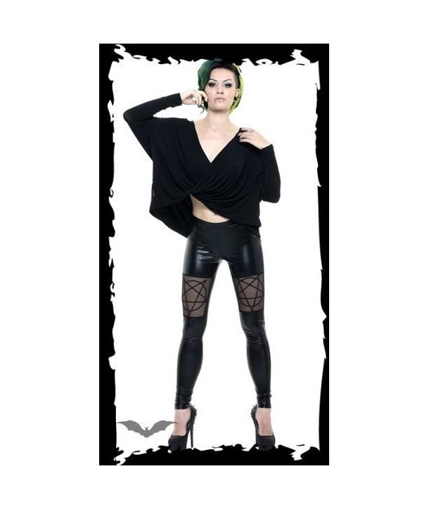 Leggings Queen Of Darkness Gothique Pentax