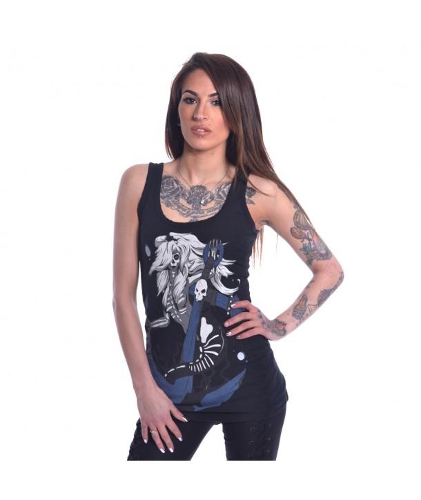 Top Heartless Clothing Death Mermaid