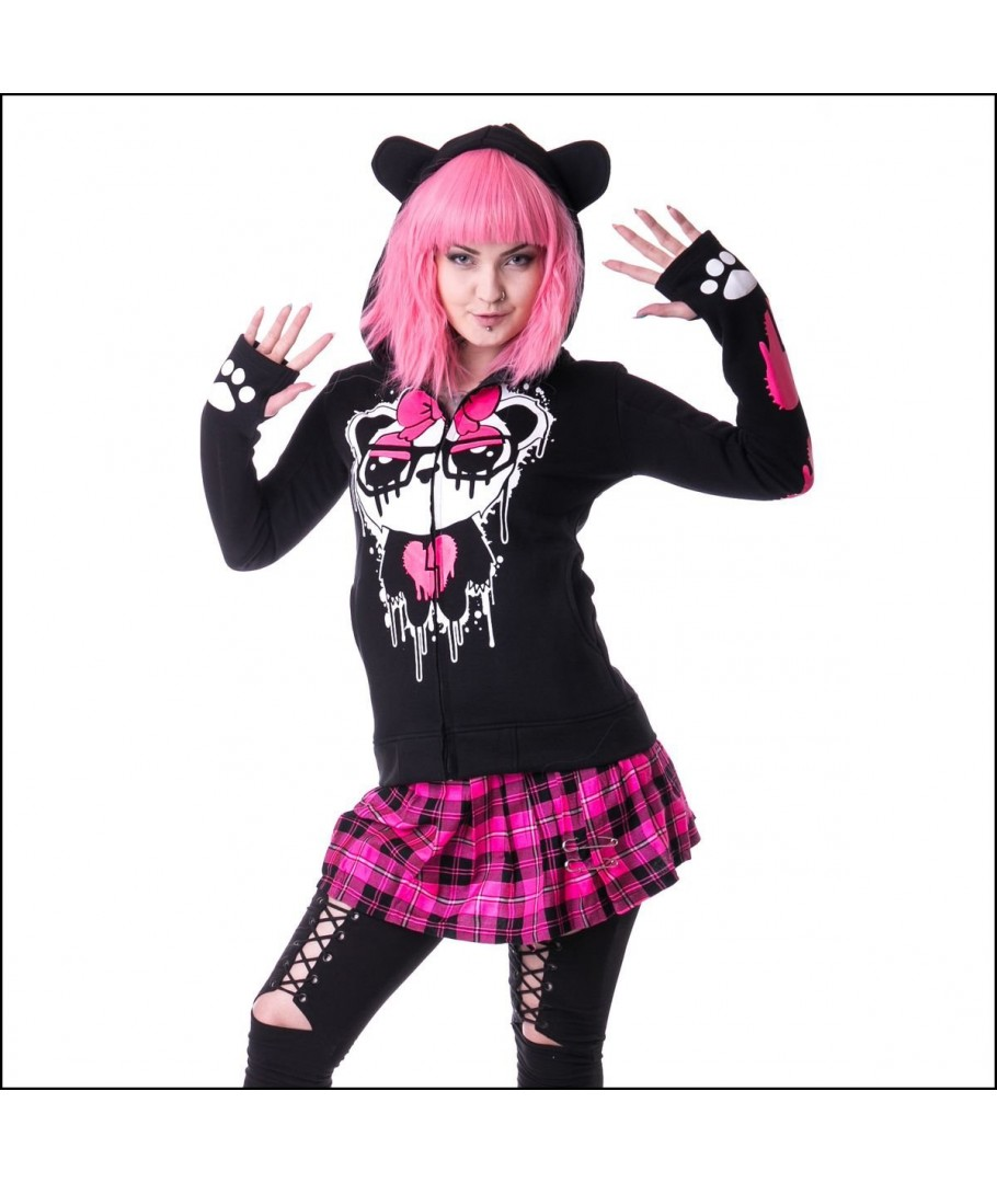 Shirt Veste Mascara Hood Killer Sweat Panda Innocent Kp Clothing CvzgqdSdw