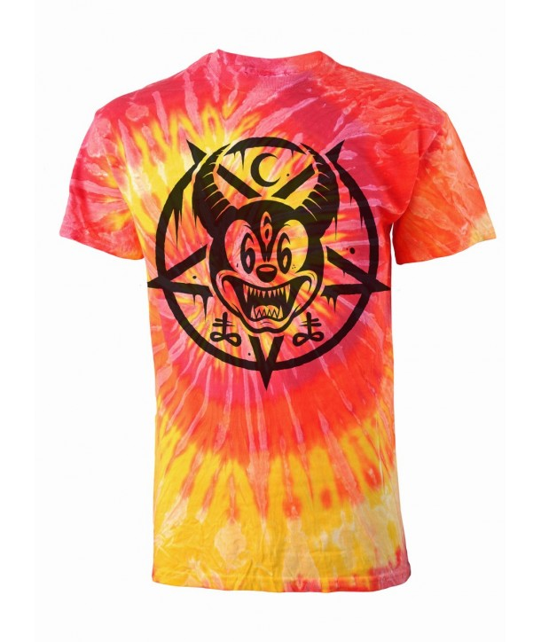 Tee Shirt Darkside Clothing Homme Mickey666 T-Dye